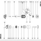 Рабочее колесо \ ESPA  Aspri 35 N/Prisma 35 N/Multi 35 N/Asuaria 37 125463 (44167)